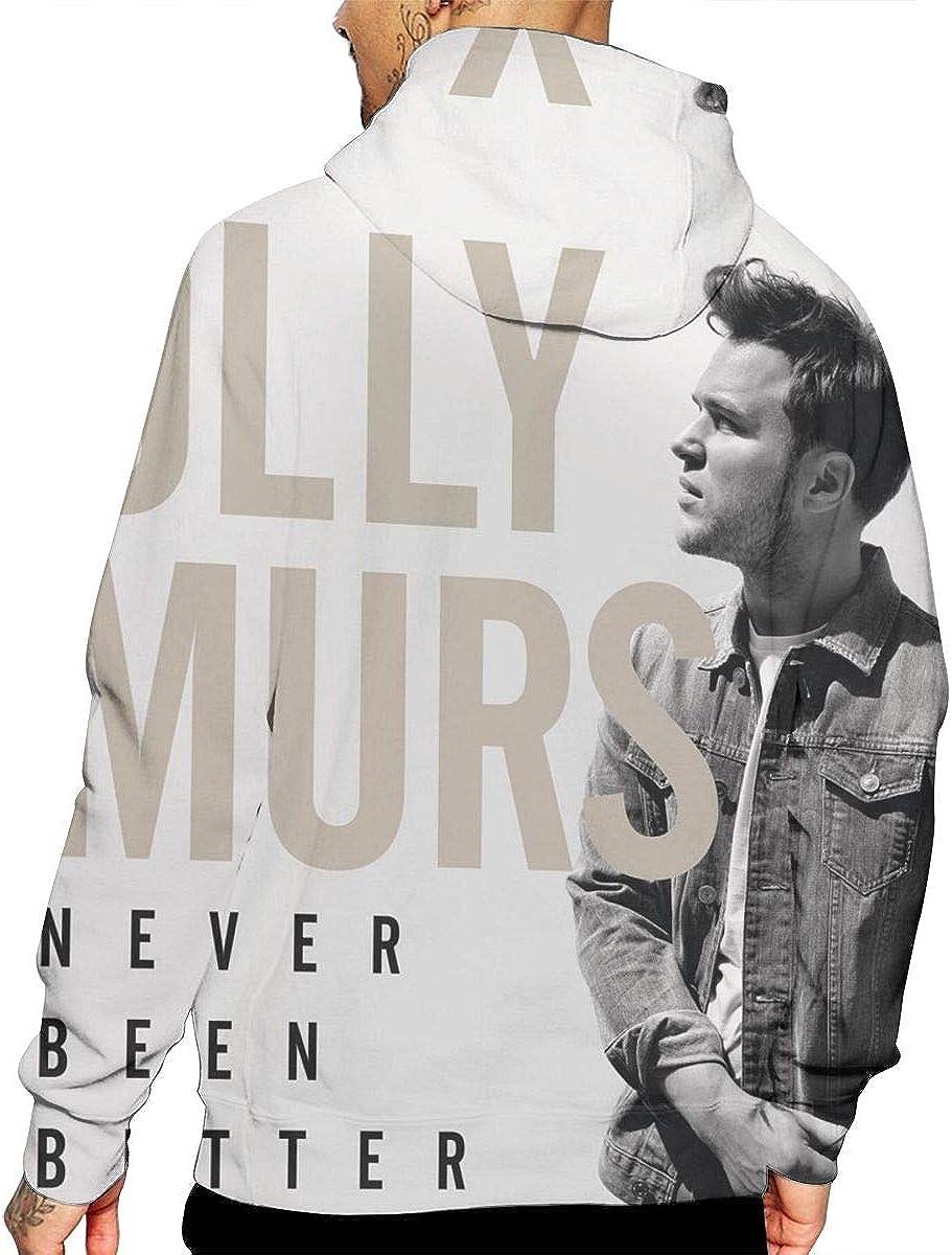 Cantrell Michael Olly MURS Never Been Better Men Long Sleeve Hooded Sweatshirt White