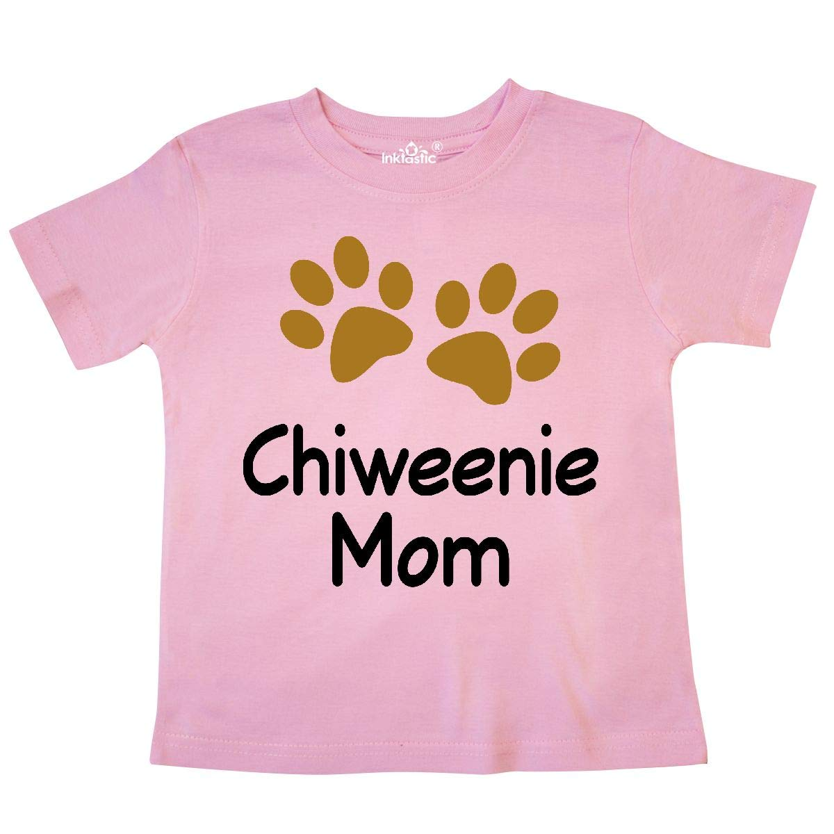 inktastic Chiweenie Mom Paw Print Toddler T-Shirt
