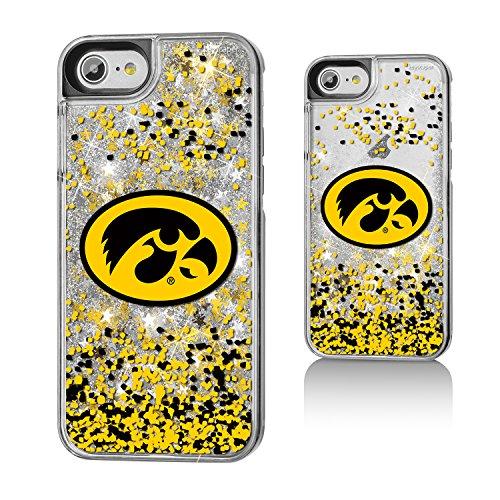 Iowa Glitter (Iowa Hawkeyes Gold Glitter Case for the iPhone 6 / 6S / 7 / 8 NCAA)
