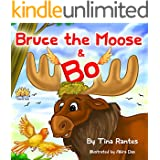 """Children's picture books:""""BRUCE THE MOOSE & BO"""":(Bedtime story)Beginner readers level 1(values)Funny(Rhymes)read along-Animal story:Mammals book,Early ... Preschool (book for kids)Children's 4-8"""