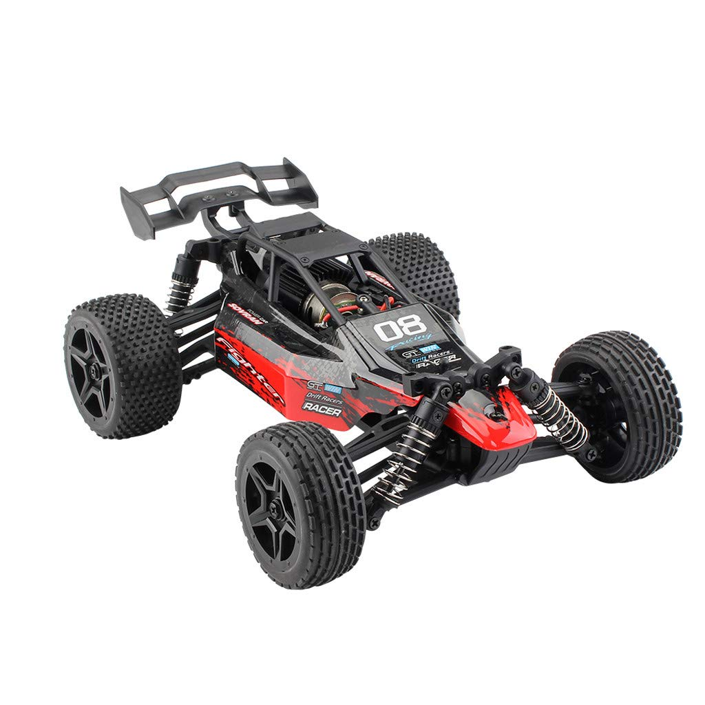 1/16 RC Rock Crawler 4WD Off Road RC Military Truck Rock Crawler 2.4Ghz 36KM/H High Speed Remote Control Moster Truck Waterproof Desert Buggy RC Car Gift for Kids