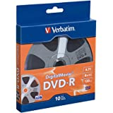 Verbatim 4.7GB 8x Digital Movie Recordable Disc DVD-R, 10-Disc 97946