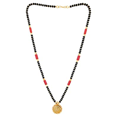 62823adb05f19 Digital Dress Jewellery Women's Pride Gold Plated Mangalsutra ...