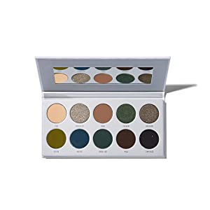 Morphe x Jaclyn Hill Eyeshadow Palette - Dark Magic - 10 Creamy, Sultry Eyeshadows - Show your Dark Side - A Palette of Smoky and Shimmering Eyeshadows
