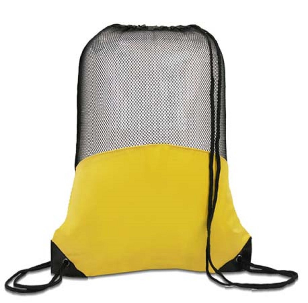 MESH BACKPACK, Yellow, Case of 60
