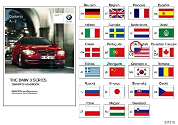 bmw genuine owners manual for e92 e93 with idrive amazon co uk car rh amazon co uk bmw m3 e92 owner's manual e92 owners handbook