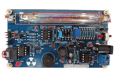 Portátil Mango Geiger counter0.01 y # x3BC; sv/H DIY Kit nuclear
