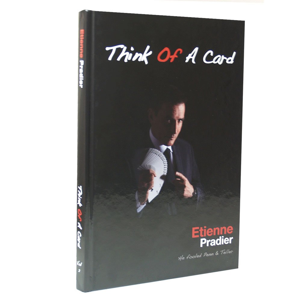 MMS Think of a Card by Etienne Pradier - Book by MMS