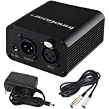 InnoGear I229 48V Power Supply Unit for Condenser Microphones (Black)