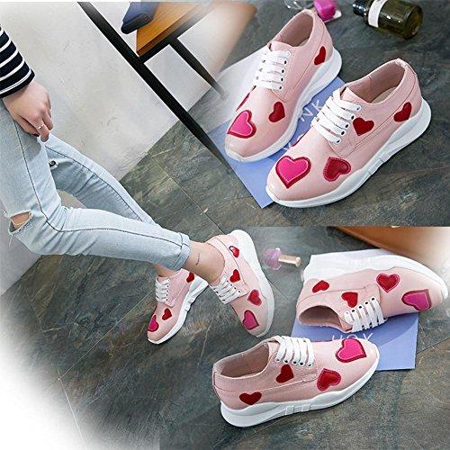 Scarpe sportive casual belle delle ragazze scarpe da tennis di modo di estate e di autunno