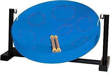 Jumbie Jam JJ3050-BL - Tambor metálico de Trinidad y Tobago color azul