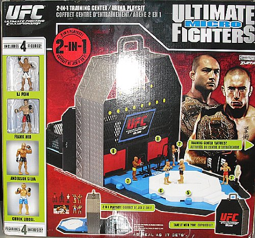 UFC Ultimate Micro Fighters 2-in-1 Arena/Training Center Playset