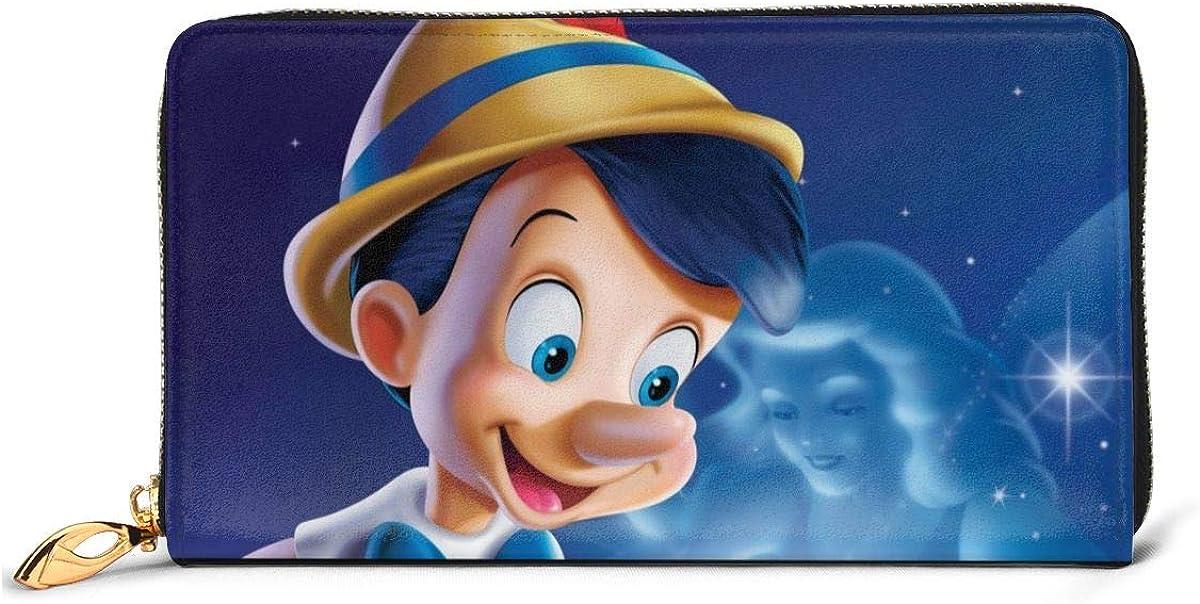 Pinocchio handmade fabric coin change purse