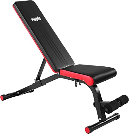 Adjustable Bench Press Flat Incline Decline Weight Workout Fitness Exercise Gym