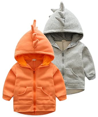 104ff0f12854 Amazon.com  EGELEXY Baby Girls Boys Spring Cute Dinosaur Hoodie ...