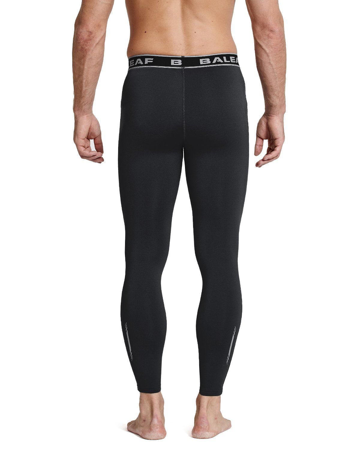 31aac03637405 Amazon.com: Baleaf Men's Thermal Compression Baselayer Tights Fleece Lined  Pants: Clothing