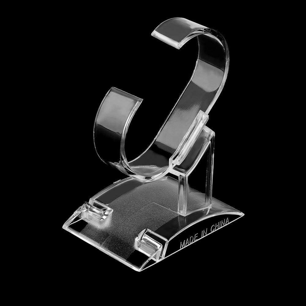Transparente Expositor de Herramientas Soporte para Relojes de Pulsera Emily Soporte para exhibici/ón de Tiendas de pl/ástico acr/ílico Transparente y Ligero