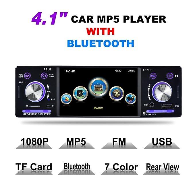 Amazon. Com: phoneix wireless fm transmitter bluetooth car charger.