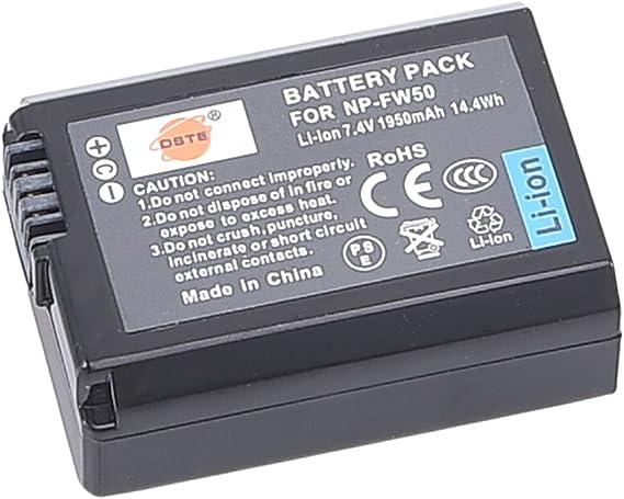 CARGADOR PARA SONY ALPHA 5100 np-fw50 Patona-batería ILCE 5100//ILCE - 5100l//y