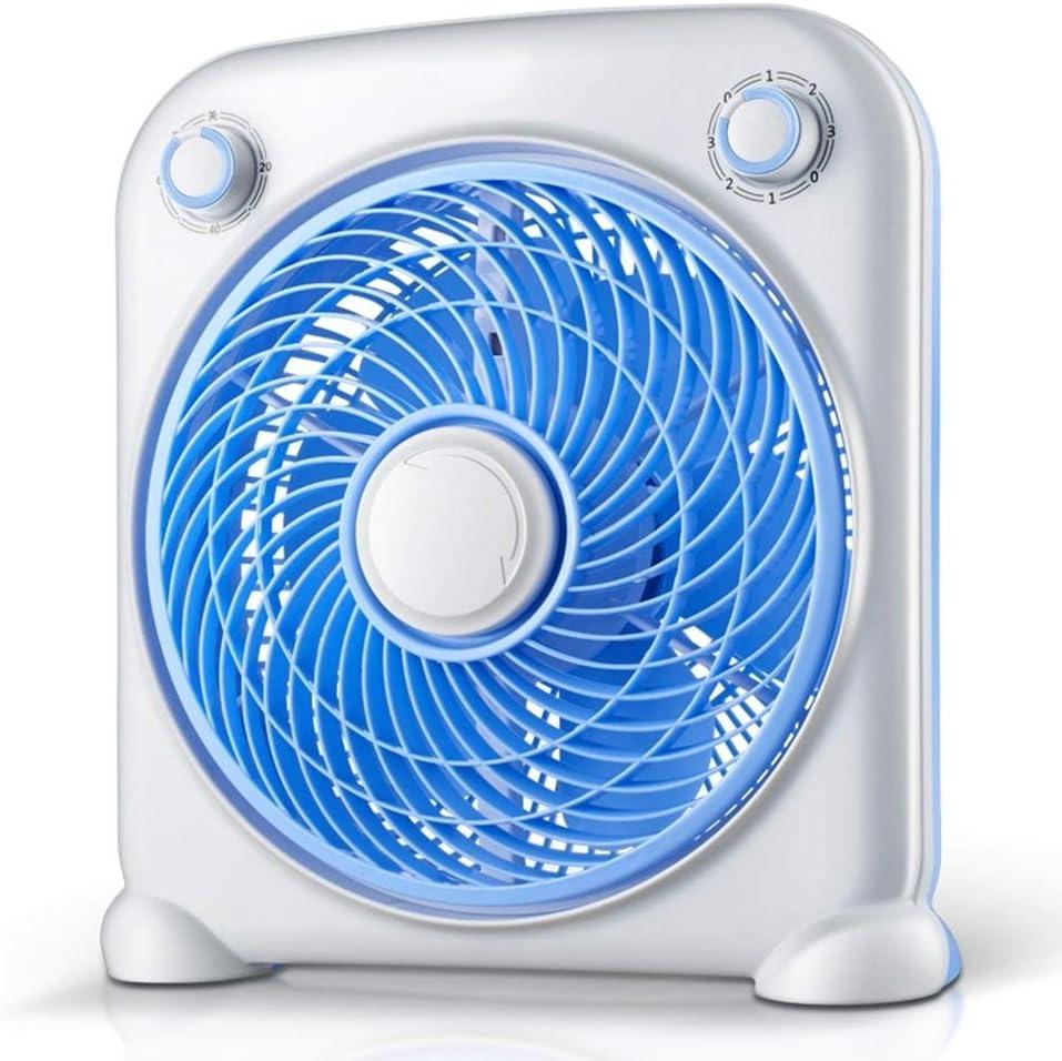 Office Desktop USB Interface Mini Electric Fan Student Dormitory Portable Desktop Small Fan,Blue BYMZXBN Table Fan