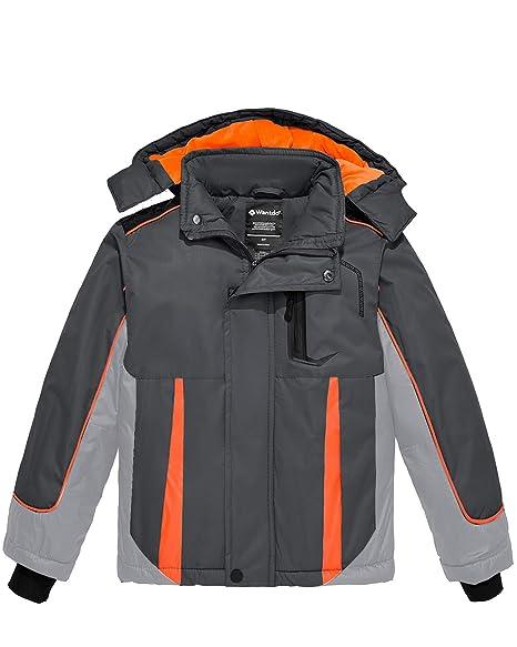 Amazon.com: Wantdo - Chaqueta de esquí impermeable con ...