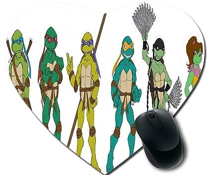 Bricolaje y personalizada mousepad, tortugas Ninja ratón ...