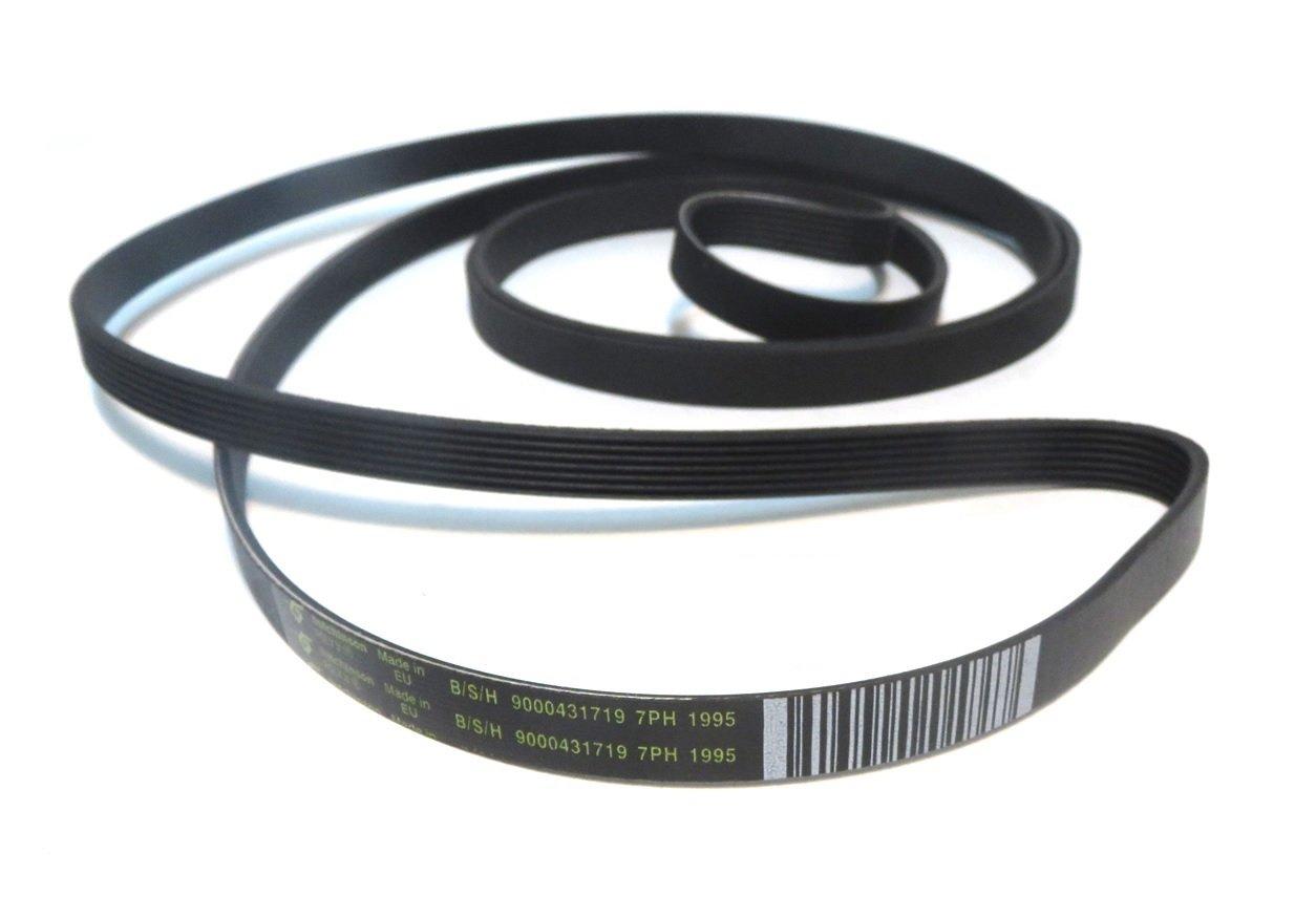 Hutchinson -Cinghia elastica di ricambio per cestello di asciugatrice 7PH 1995 (9000431719) SoloCorreas
