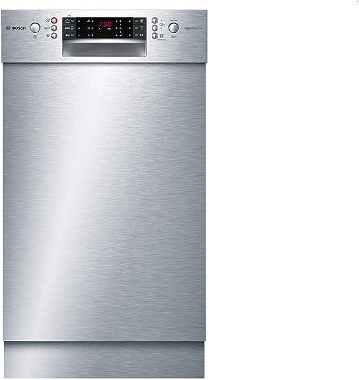 Bosch Serie 6 SPU66TS00E lavavajilla Semi-incorporado 10 cubiertos ...