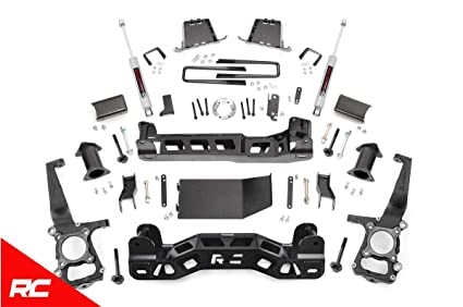 Rough Country - 598S - 6-inch Suspension Lift Kit w/ Performance 2 2 Shocks