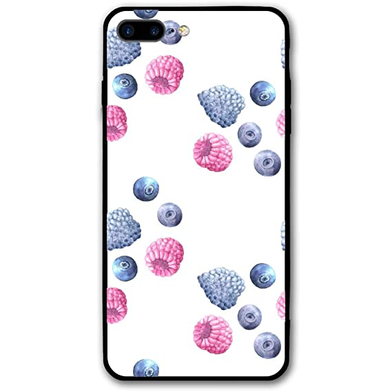 huge selection of a58be 3b90d Amazon.com: Blueberry Mulberry Fruit Food IPhone 8 Plus/Iphone 7 ...