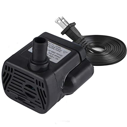 Active Powerful Ultra Quiet Submersible Fountain Water Pump With Power Cord For Pond High Quality And Inexpensive Fish & Aquariums Pet Supplies