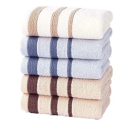 LOF-fei Toallas de Lavabo/Toallas de Mano algodón de Ducha Súper Suave (