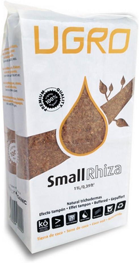 Sustrato Bloque Ladrillo Fibra de coco deshidratado U-Gro Rhiza Small (750g-11L)
