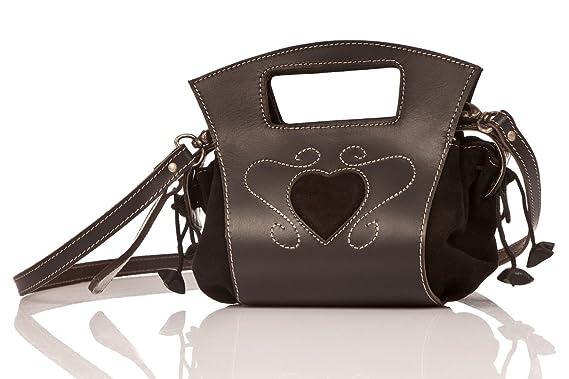 Owa Moden Trachten Handtasche 1886 Schwarz Amazon De Bekleidung
