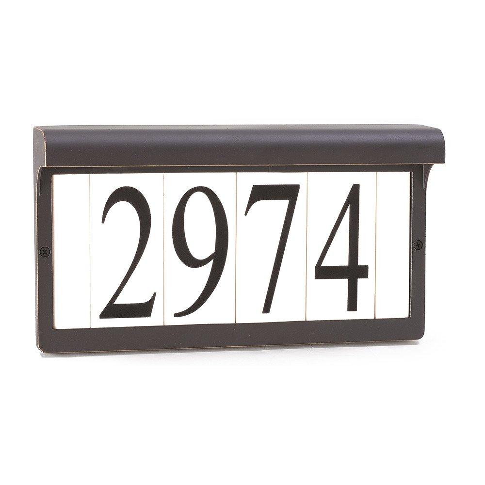 Sea Gull Lighting 9600-71 Address Light Fixture, Antique Bronze Finish