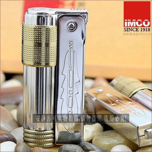 Imco Windproof Petrol Lighter - Super Western Classic