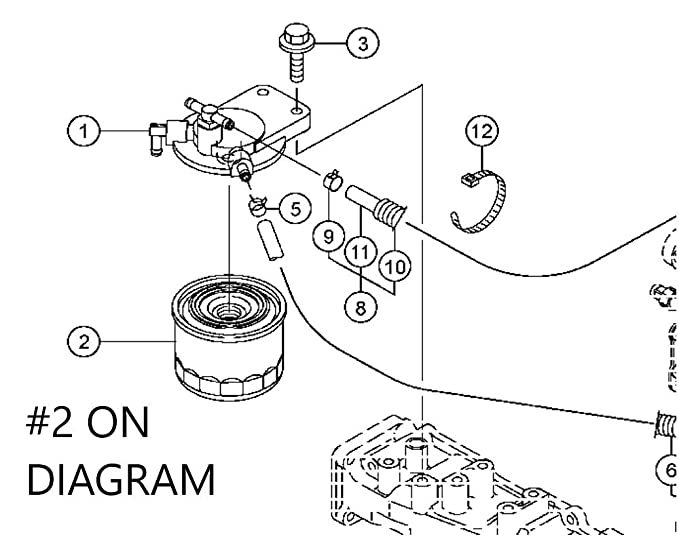 Amazon.com: John Deere equipo original filtro de combustible ...