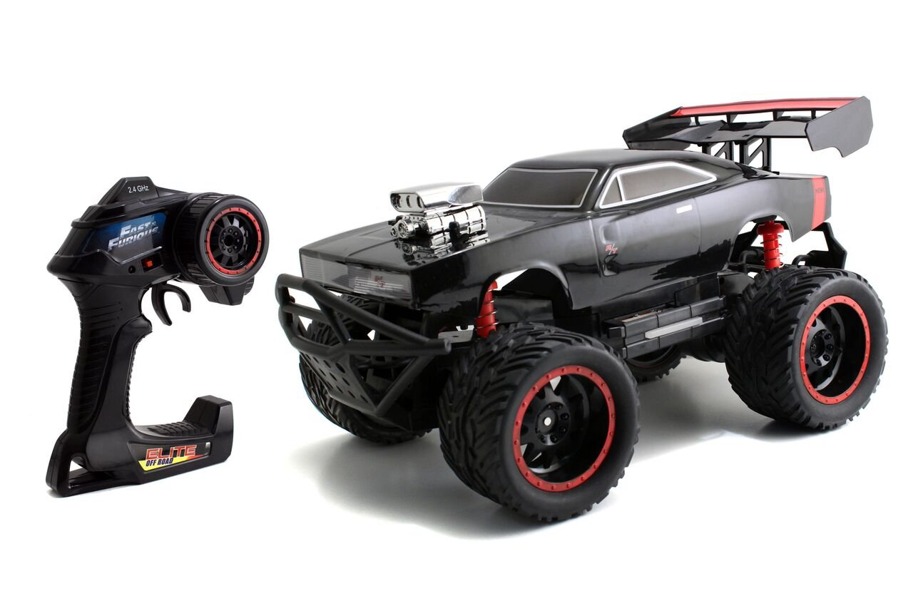 Jada Toys Fast Furious R T High Speed Elite Off Road Rc Car Headlight Wiring Diagram Radio Control Toy Vehicle 24 Ghz Ready To Run With Working Lights
