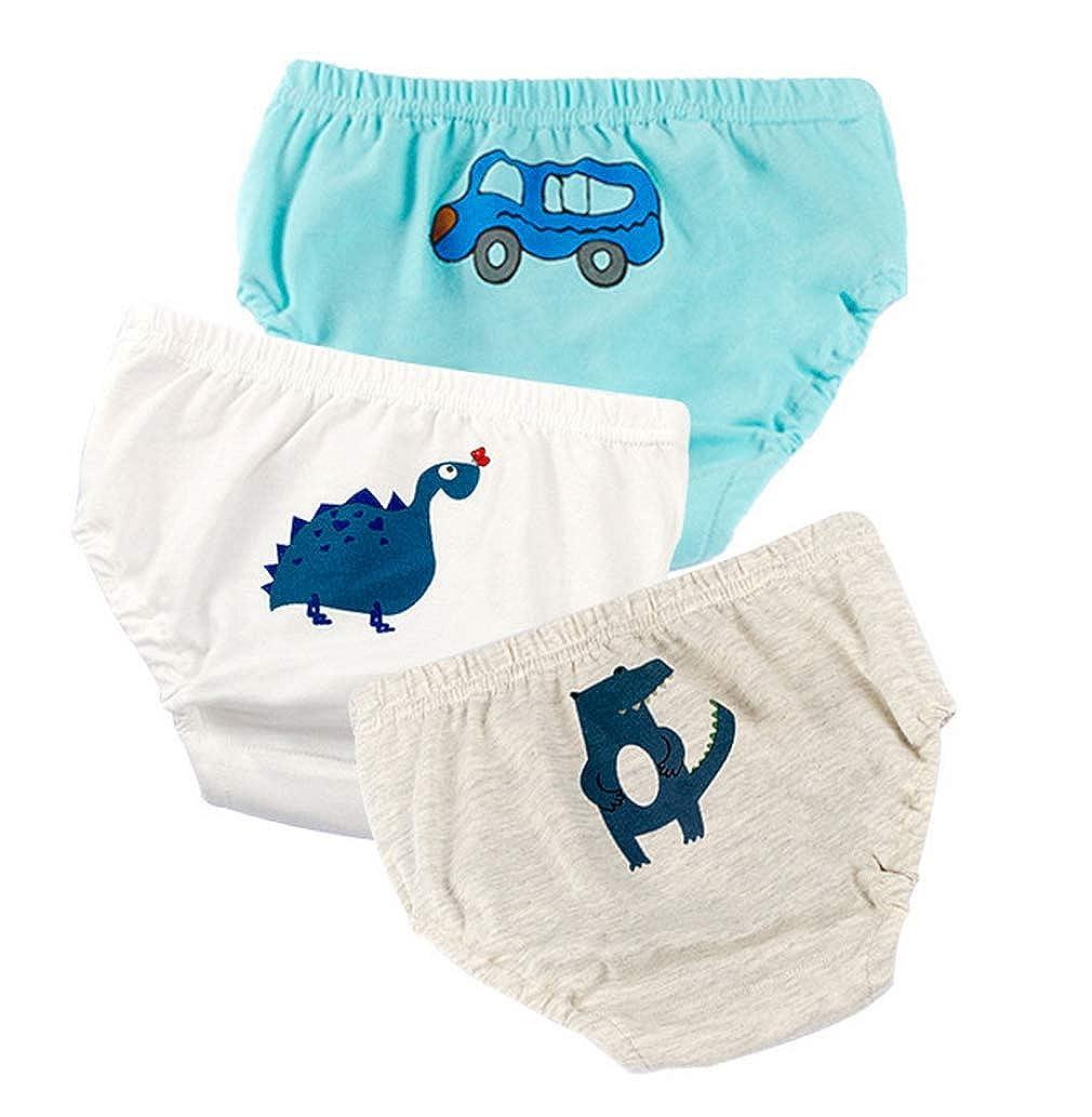 Cloud Kids 3 St/ück Baby Unterhose Jungen M/ädchen Windelhosen Lernwindel Trainerhosen