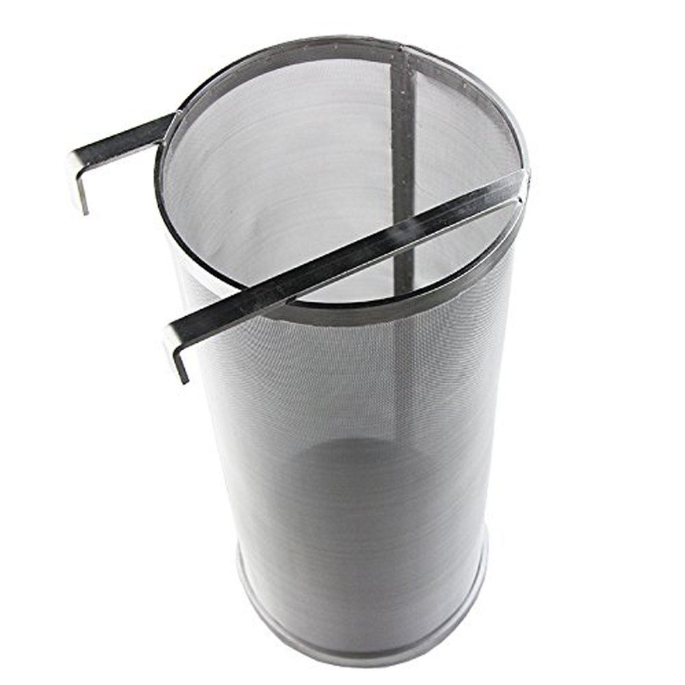 Hop Spider 300 Micron Mesh Stainless Steel Hop Filter Strainer for Home Beer Brewing Kettle by TIZZE