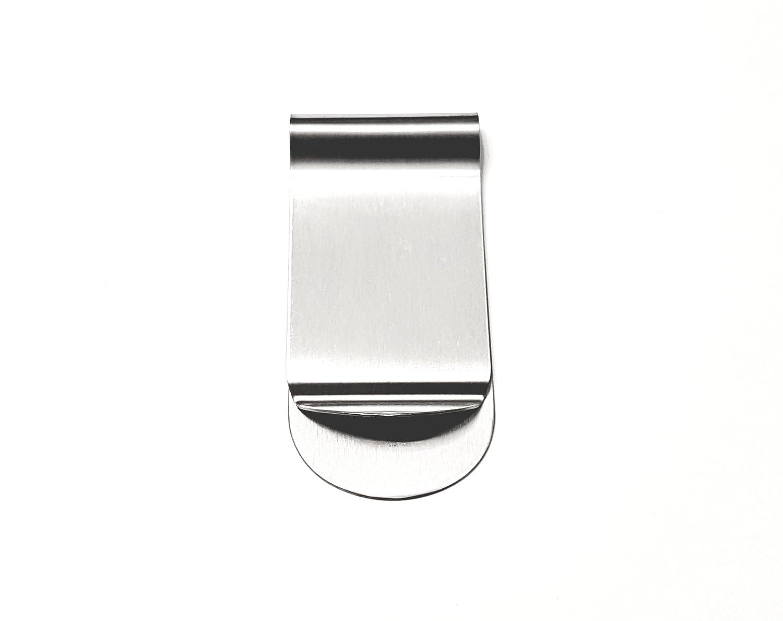 Large Silver Money Clip & Credit Card Holder