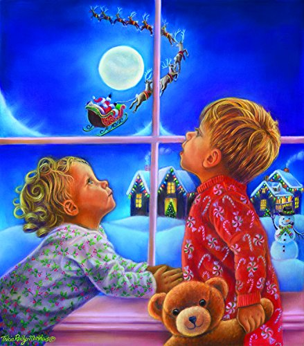 There He Goes 300 Piece Jigsaw Puzzle by SunsOut - Christmas theme