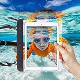 "I-Sonite Black Universal Waterproof Tablet Case Bag with Adjustable Neck Strasp Water For Samsung Galaxy Tab Iris - 7"""