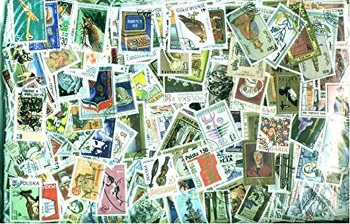 Worldwide Stamp Collection - 5,000 Different Stamps