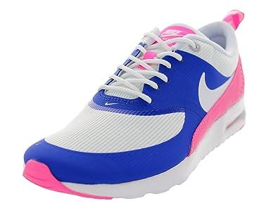 e6b5fcb80beb57 Nike Damen WMNS Air Max Thea Sneaker blau rosa weiß 38.5 EU  Amazon ...