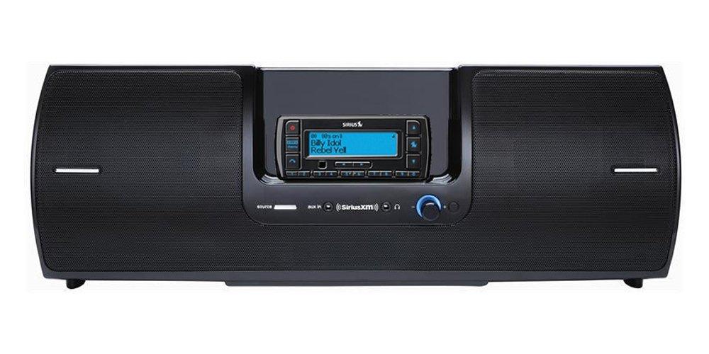 SiriusXM Radio SXSD2 Portable Boombox With Stratus Receiver (receiver only) Bundle