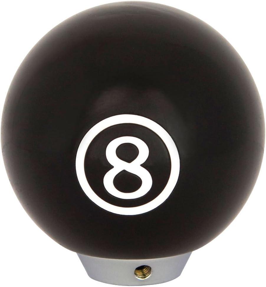 Universelle Schaltknauf 8 Ball Schwarz Auto