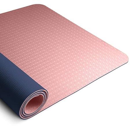 Estera de ejercicios Estera de yoga portátil antideslizante ...