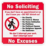 WALI Plastic Sign for Home Business Security, Legend