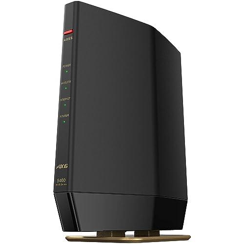 Wi-Fi 6対応ルータープレミアムモデル WSR-5400AX6